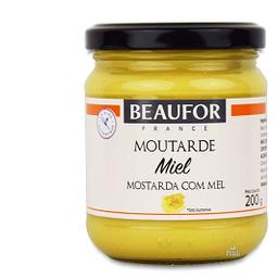 Mostarda com Mel Beaufor - 200g