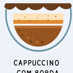 Cappuccino com Borda de Nutella 200ml