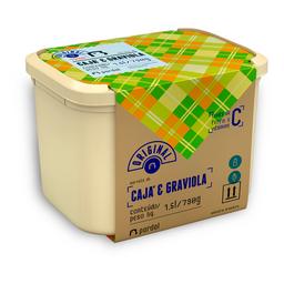 Sorvete de Cajá com Graviola 1,5L