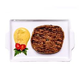 Hambúrguer vegano da casa