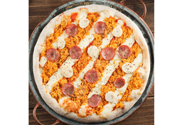 Pizza Média - 2 Sabores