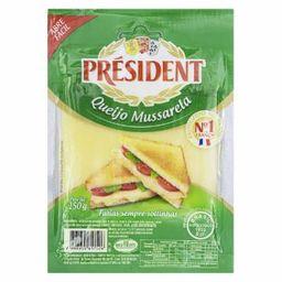 President Queijo Mussarela Fatiado Présidental