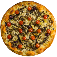 Pizza Francesa com Mussarela - Broto