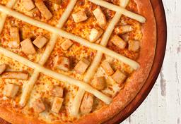 Pizza de Frango e Cream Cheese Philadelphia - Grande