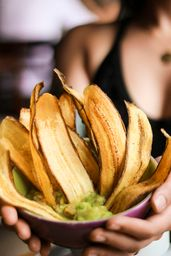 Guacamole e Chips