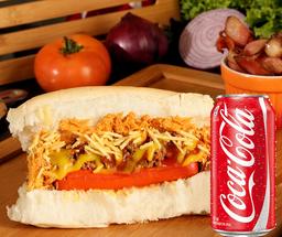 combo dog + refrigerante 350ml