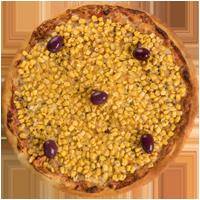 Pizza de Milho (c/ mussarela)