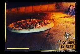 Pizza De Rúcula Com Tomate Seco (Forno a