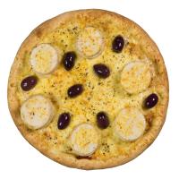 Pizza de Palmito (c/ mussarela)