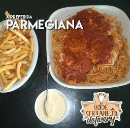 1/2- Frango à Parmegiana Completo