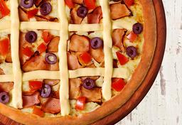 Pizza de Peito de Peru - Média