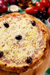 Pizza Meio À Meio Salgada