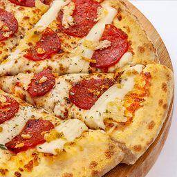 Pizza de Catuperoni - Média Pan