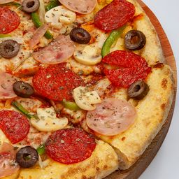 Pizza de Extravaganzza - Média Pan