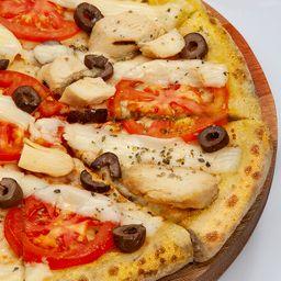 Pizza de Frango Grelhado - Média Pan