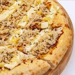 Pizza de Frango com Cream Cheese - Brotinho