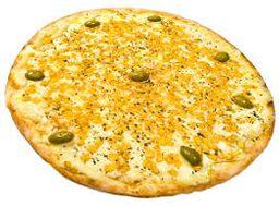 Pizza De Milho Verde Com Mussarela