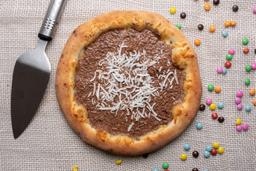 Pizza Meio à Meio Doce