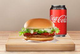 Bob's Burger + Refrigerante por 12,90