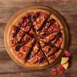Pepperoni com Provolone Defumado BBQ