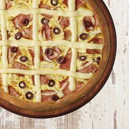 Pizza Portuguesa Individual - 4 Pedaços