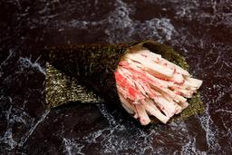 Temaki kani (corte em tiras)