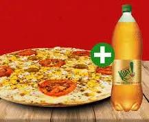 Pizza pequena + Kuat 2l