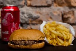 Combo Hambúrguer com Fritas e Refrigerante