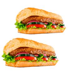 2x1 Steak de Carne (15 cm) - Leve 2 Pague 1