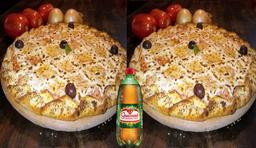 Combo 2 Pizzas Gonzaguinha e Refri 1L