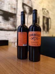 Vinho italiano corbelli primitivo - safra 2018 - 750ml