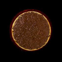 Mini pizza chocolate