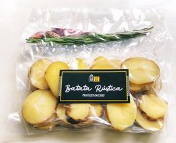 Batata Rústica Pré Frita