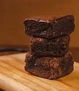 Brownie sem recheio