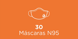 30 Máscaras N95