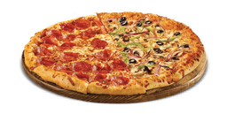 Pizza Meio à Meio Especial