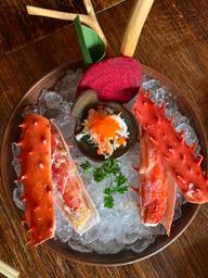Sashimi de Crab