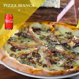 Pizza Bianca + 2 Coca-Cola