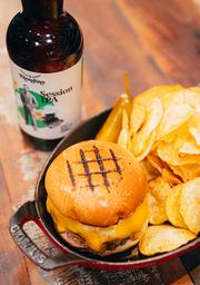 Combo ICI Burger + Cerveja