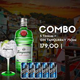 Combo Tônica e Gin TANQUERAY