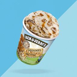 Ben & Jerrys Caramel Almod Brittle Vegano 458ml