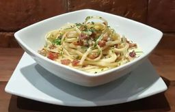 Linguinni a Carbonara