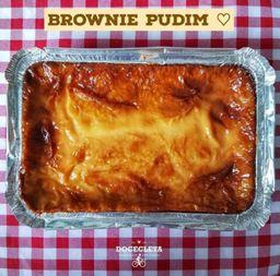 Brownie Pudim