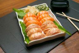 Sushi de Salmão Mix