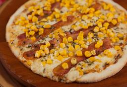 Pizza Bacon com Milho