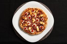Pizza Carne Seca com Queijo Coalho