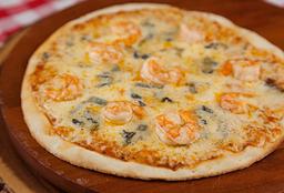 Pizza Camarão com Gorgonzola