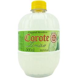 Coquetel corote limão