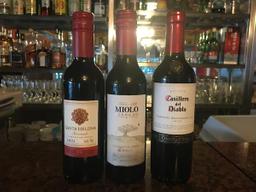 3 Meias Garrafas de vinho