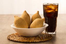 1 salgado +  Coca Cola 350ml